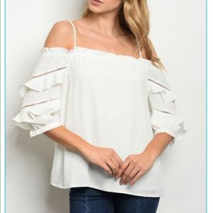 Tops - 🔲♥️🔲Gorgeous Off the Shoulder Top